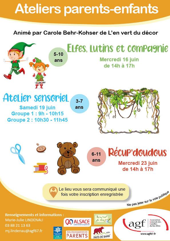 """Atelier parents-enfants : """"Elfes, lutins et compagnies"""""""