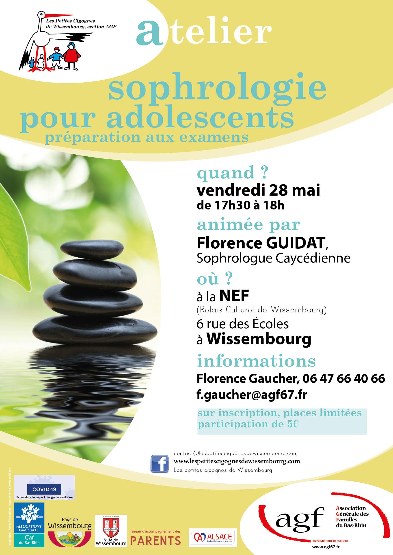 """Atelier """"Sophrologie pour adolescents"""""""