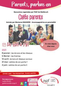 """Café parents """" Ecrans et réseaux sociaux"""""""