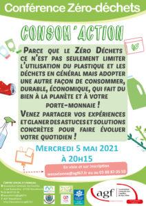 """Conférence zéro-déchets """"Consom'action"""""""