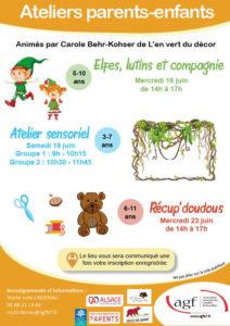 Atelier parents-enfants : «Récup'doudous»