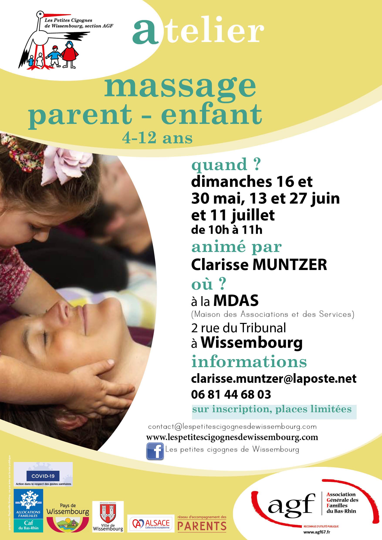 """Atelier : """"Massage parents-enfants"""""""