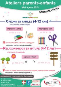 """Atelier parents-enfants : """" Relaxons-nous en nature"""" Groupe 1"""