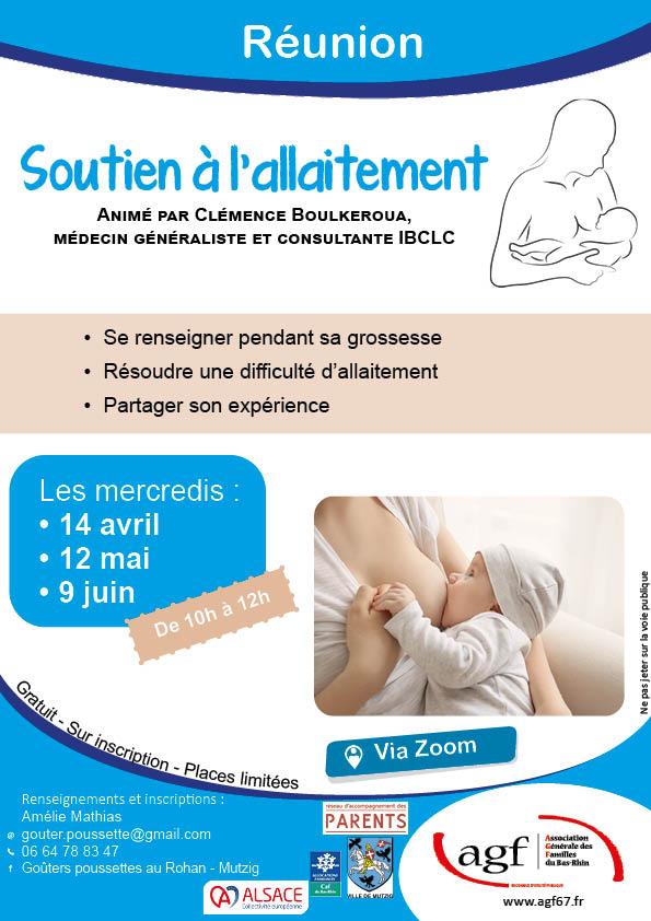 """Réunion : """"Soutien à l'allaitement"""""""