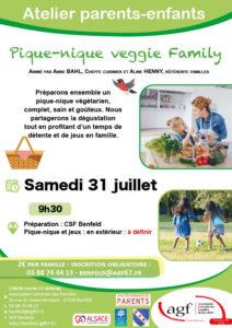 Atelier parents-enfants : Pique-nique veggie family